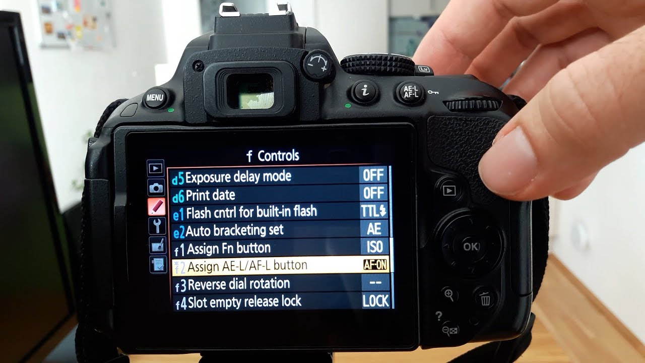 My camera settings on the D5300 - Tips and Tricks - YouTube