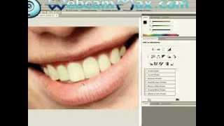 Урок фотошопа №3/ Отбеливание зубов