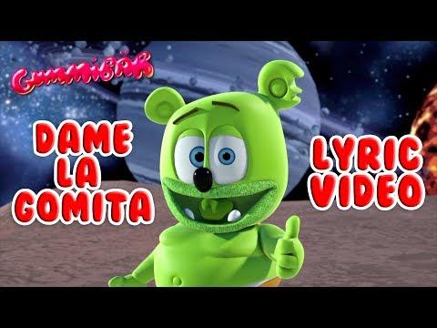 DAME LA GOMITA LYRIC  Gummy Bear Song ALIEN DANCE CHALLENGE