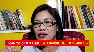 How to start an E-COMMERCE BUSINESS?