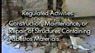 Asbestos Awareness Safety Training
