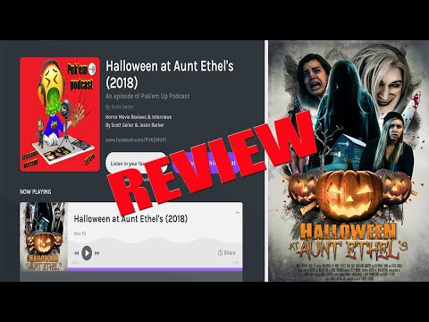 Halloween At Aunt Ethel S 2018 Horror Movie Review