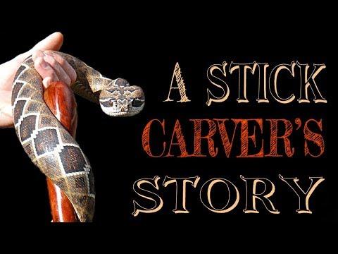 How I Got Started Carving Walking Sticks