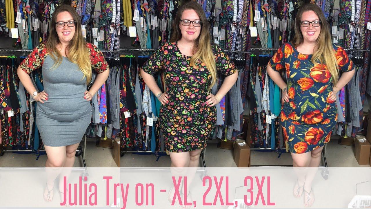 0b195193913 LuLaRoe Julia Fit Video - Plus Size Try on XL