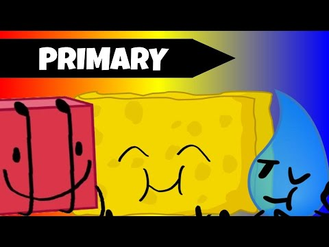 BFB But Only Contestants With Primary Colors Exist