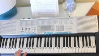 How to Play ~ Jesus Paid It All Key of C ~ Chords - Sing A Long ~ LetterNotePlayer ©