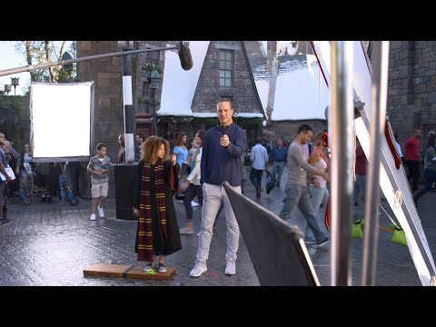 Behind the Scenes Super Bowl TV Commercial Universal Studios Peyton Manning (2018)