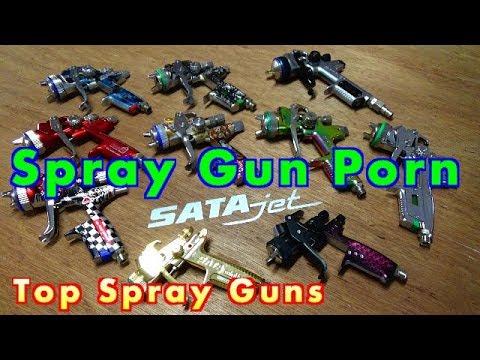 Top Spray Guns On The Market SATAjet Edition - Subscriber Giveaway - Best Spray Gun Porn Part 1