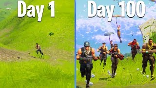 100 DAYS OF FORTNITE (Bae Royale's 100th Day Since Launch)