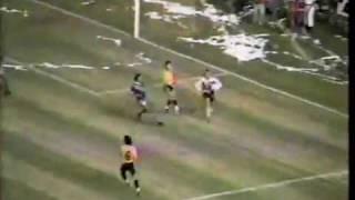 Barcelona S.C. vence a Emelec 1-0 Copa Libertadores 1990 (Con Audio)