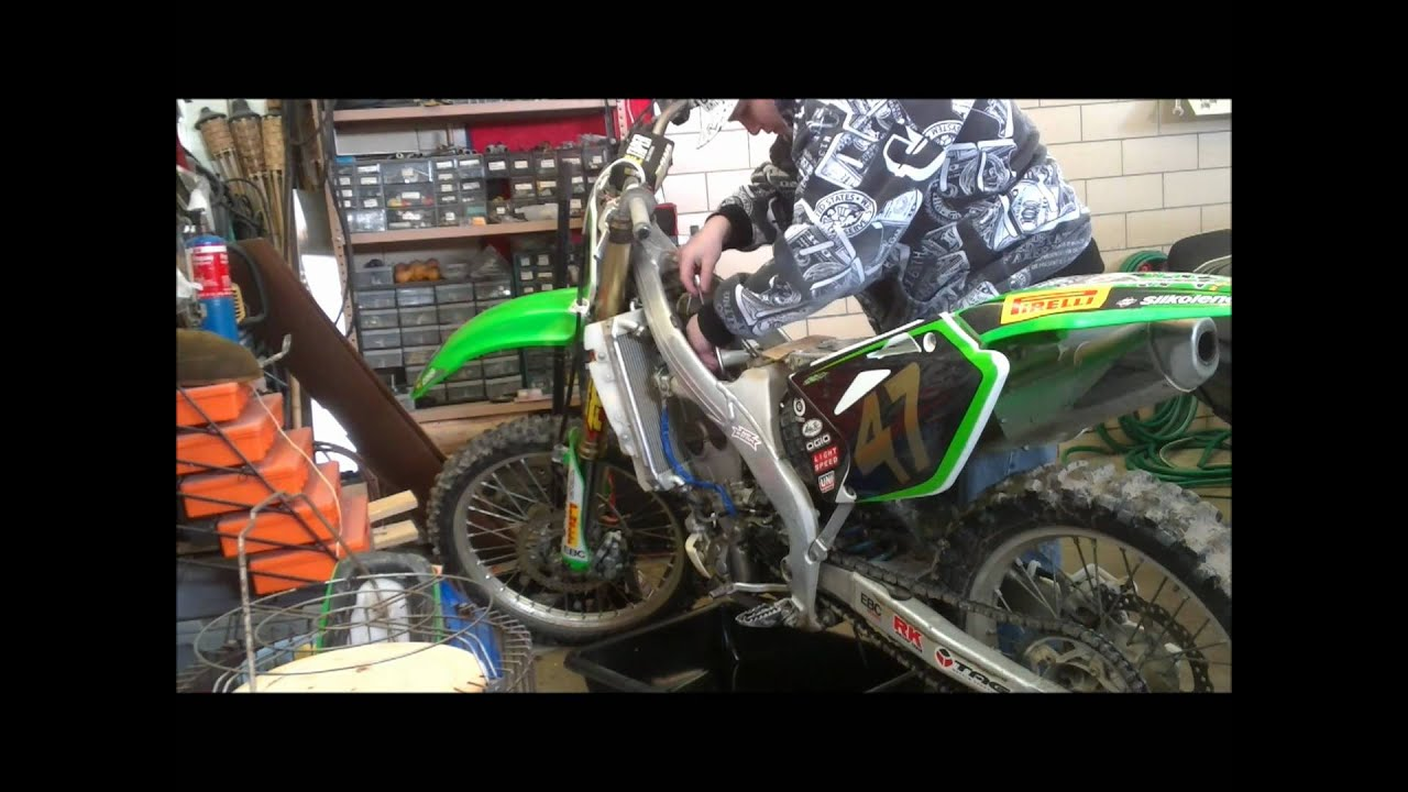 Kx250f Repair Youtube Klx 250 Wiring Diagram