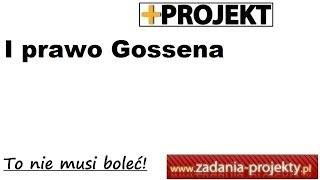 I prawo Gossena (malejącej użyteczności krańcowej) - wskazówki rozwiązane zadanie