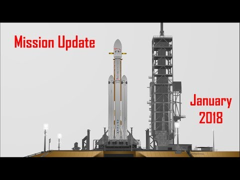 Mars Mission Update: January 2018