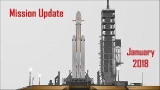Mars Mission Update: January 2018