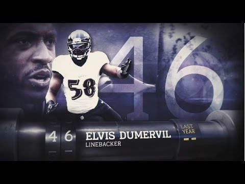 #46 Elvis Dumervil (LB, Ravens) | Top 100 Players of 2015