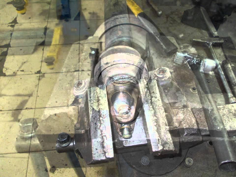 Захват кардана Subaru при запрессовке