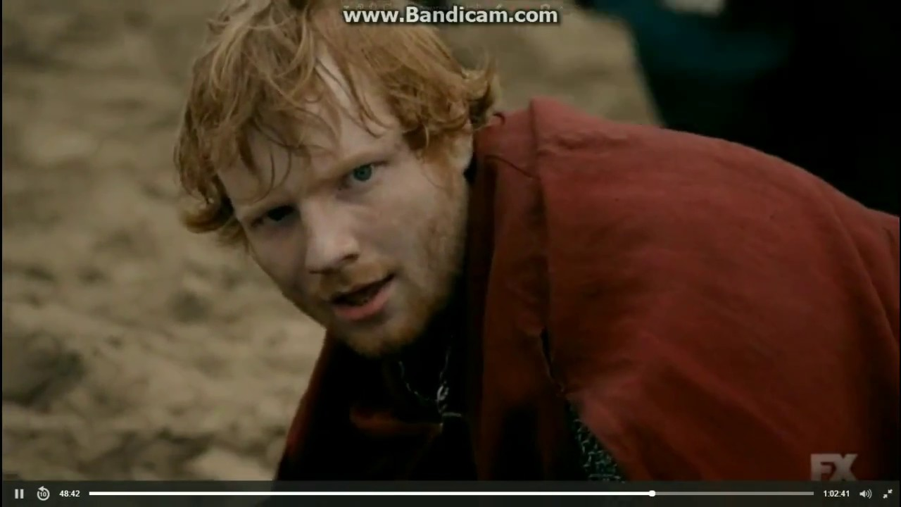 Ed Sheeran Acting Cameo On The Bastard Executioner YouTube - 17 hilarious reactions to ed sheeran appearing in game of thrones