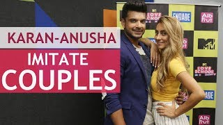 Karan & Anusha play different couples