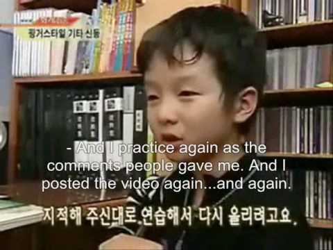 Sungha Was On TV! (English subtitled)