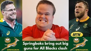 Springboks ready for the All Blacks | Rugby Championship 2019