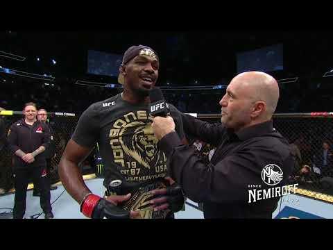 UFC 235: Jon Jones and Anthony Smith Octagon Interview