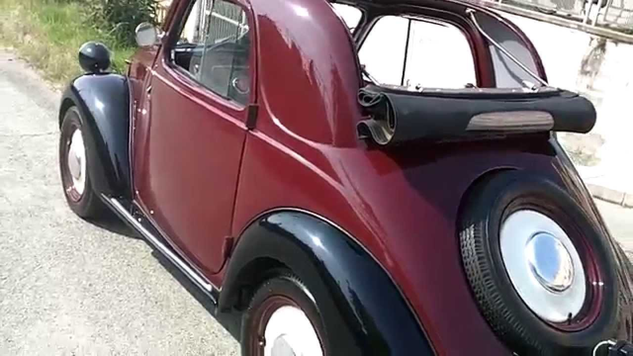 "fiat ""topolino 500 b"" - youtube"