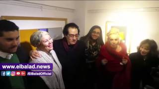 فاروق حسني: الفن التجريدي لا يمكن وضع اسم أو عنوان عليه.. فيديو