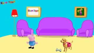 Свинка Пеппа мультики Джорджа укусила Собака Доктор Барби Укол игры для девочек на русском