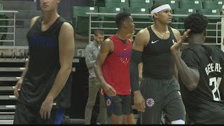 Los Angeles Clippers tip off training camp in Hawaii