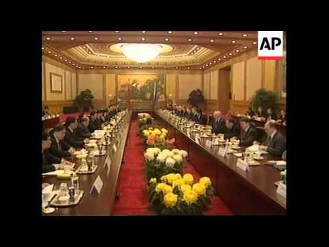 CHINA: MIKHAIL KASYANOV BEGINS VISIT