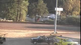 Cottage Grove Speedway Sprint Car crash
