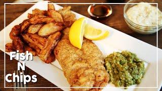 Fish and Chips |Tartar Sauce & Mushy Peas | Nick Saraf