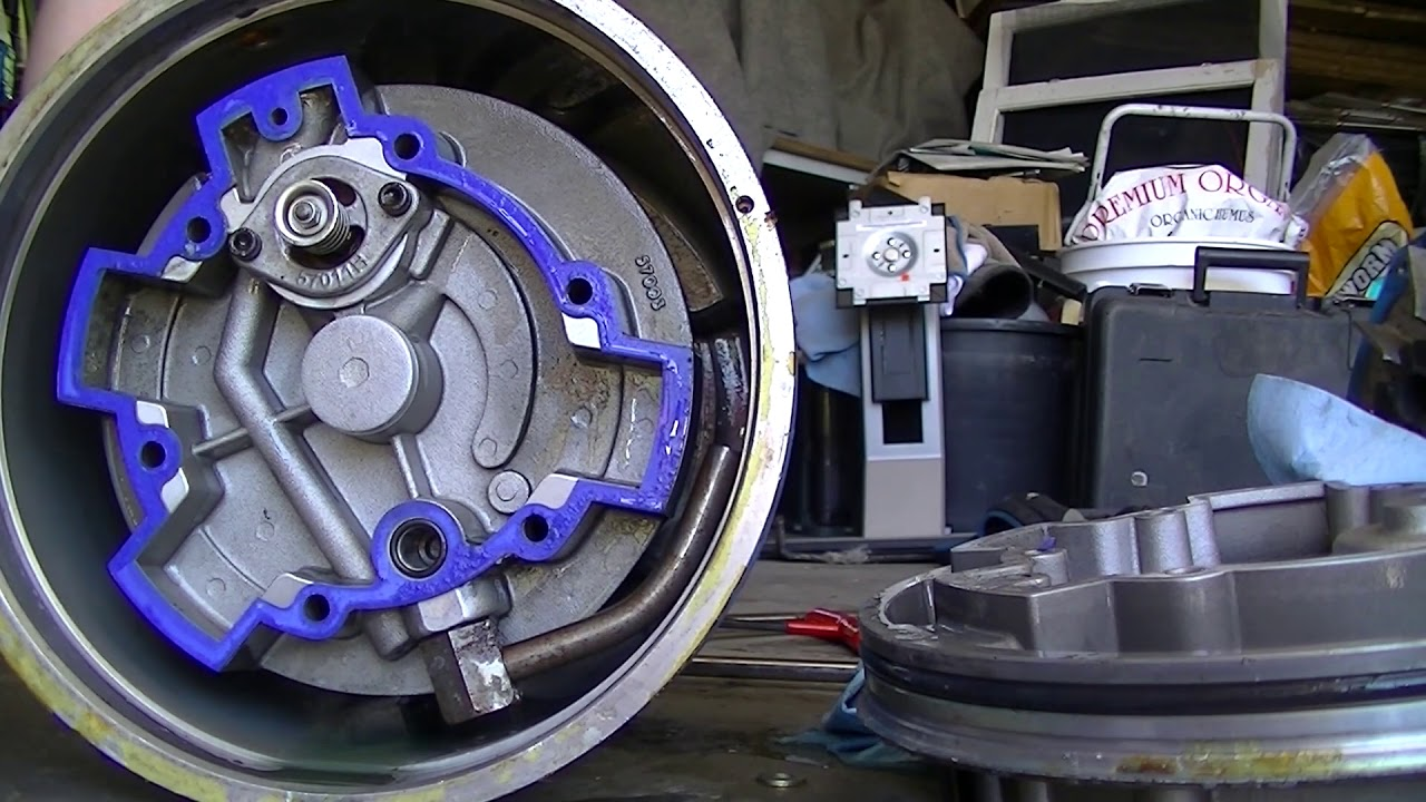 How does it work? Rotary Vane Air Compressor Disassembly