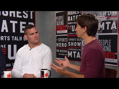 People Talking Sports* Episode 25 | Justin Long & Chris Weidman | Aired August 23rd