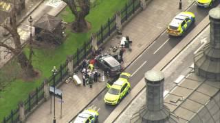 Автомобиль сбил несколько человек на Вестминстерском мосту