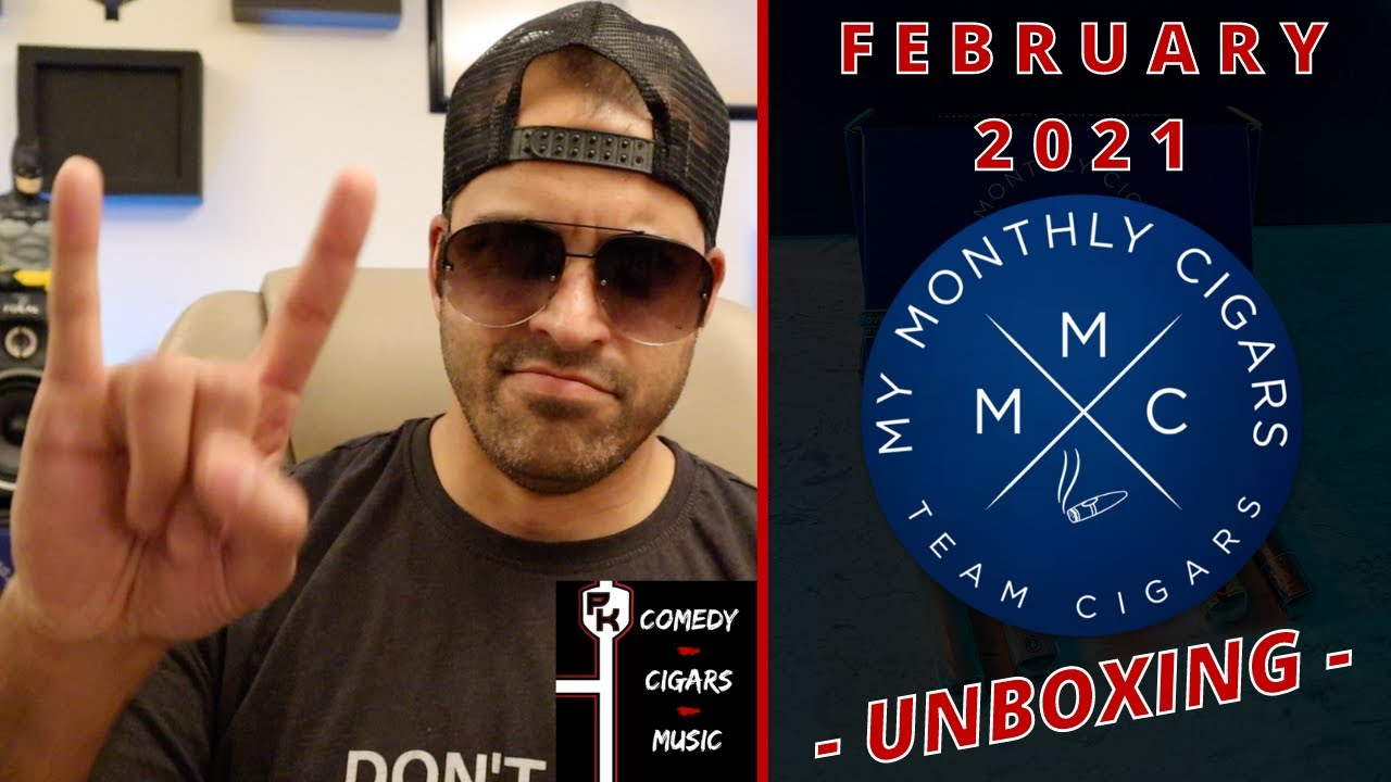 MY MONTHLY CIGARS FEBRUARY 2021 | CIGAR CLUB UNBOXING