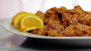 How To Make P.f. Chang's Orange Chicken | Get The Dish