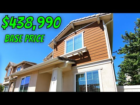 Houses For Sale In California - Model Home Tour - Rialto CA