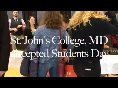 Accepted Students Day at St. John's College, MD
