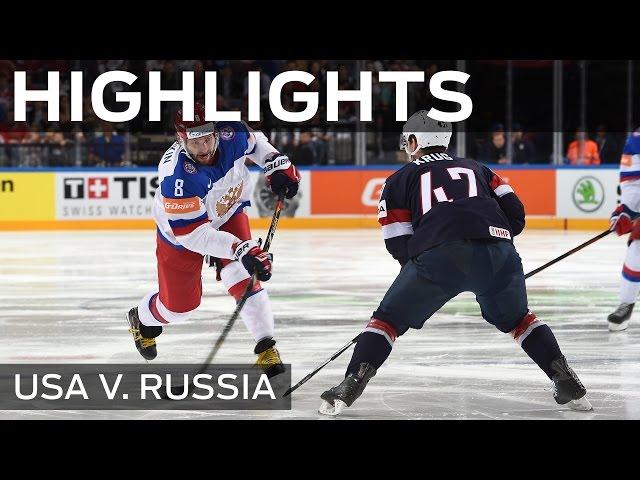 Россия победила США на чемпионате мира по хоккею