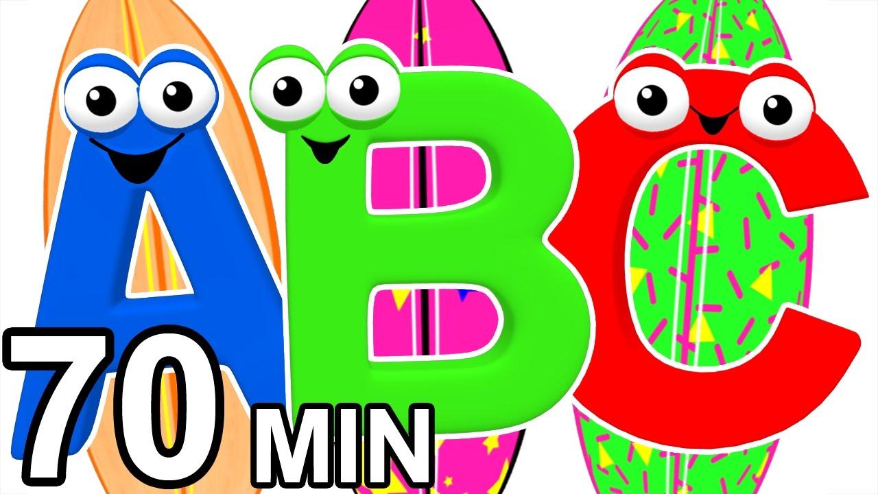 Surfin' the ABCs | Teach ABC Songs, Learn the Alphabet, 3D Baby ...