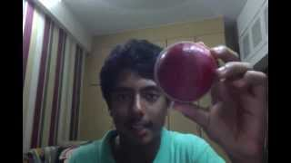 How to Shine a cricket ball (illegally)