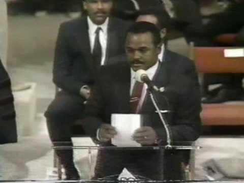 Chicago Mayor Harold Washington Funeral Service (part 2)