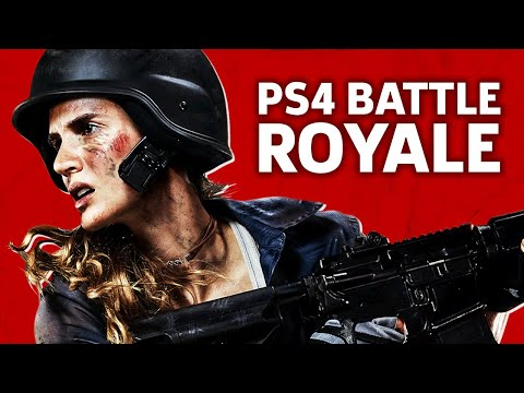 H1Z1 Battle Royale - PS4 Gameplay
