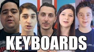 What Keyboards Do We Use? | Youtuber Edition