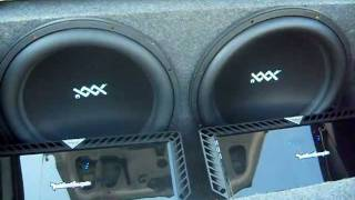 Download Video Two RE Audio XXX 18's, Two Rockford Fosgate T2500-1bdcp's, 2004 Impala MP3 3GP MP4