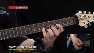 My Curse - Killswitch Engage - Guitar Lesson With Andy James Licklibrary