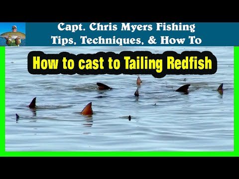 How To Cast To Tailing Redfish