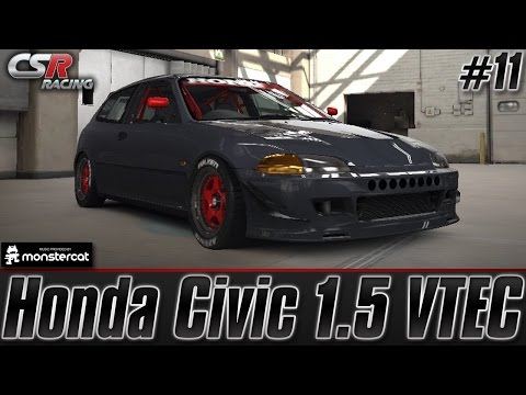 CSR Racing 2: Honda Civic 1.5 VTEC (Tuning & Customization) [Episode #11]