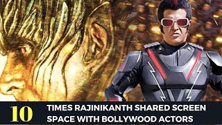 10 Times Rajinikanth Shared Screen With Bollywood Actors